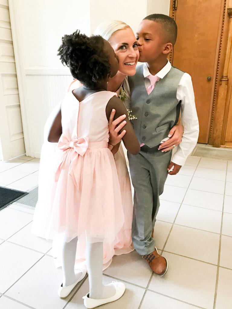 You are Five, Amiya athymeformilkandhoney.com #birthday #fiveyearsold #Amiya JJ's wedding with Isaiah