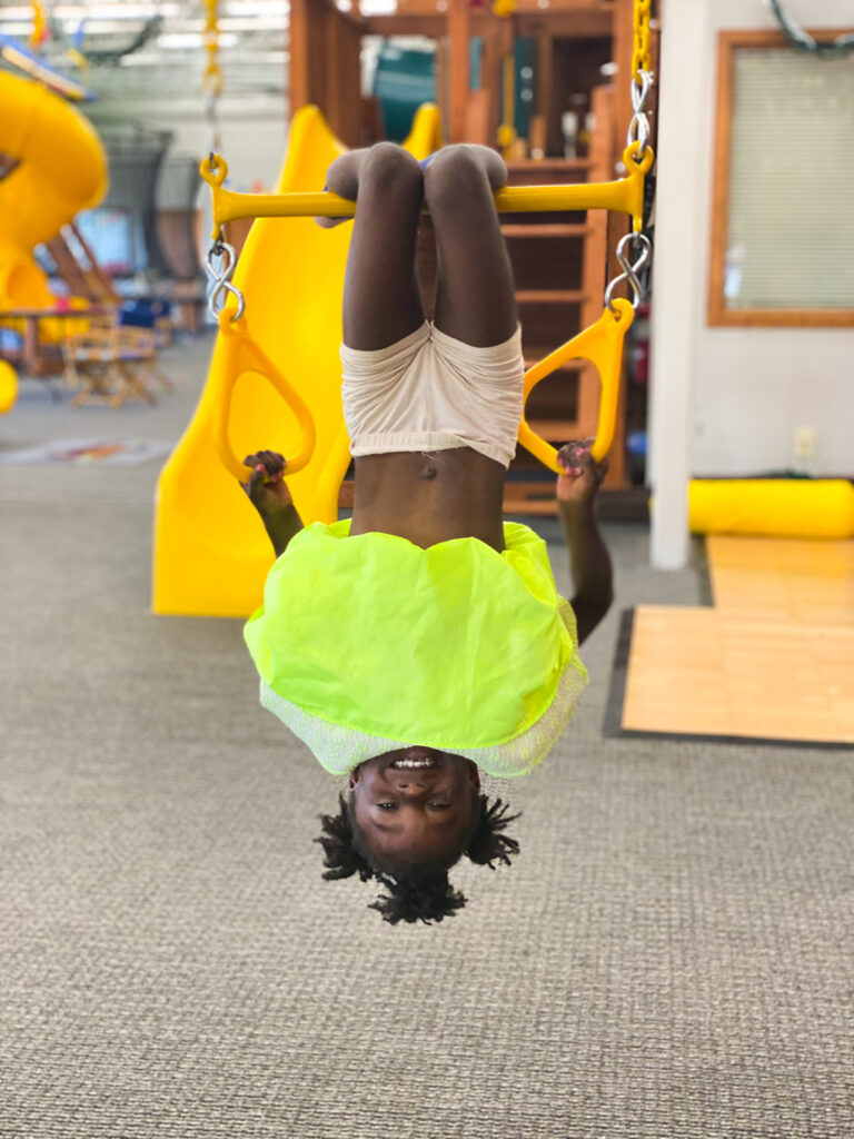 You are Five, Amiya athymeformilkandhoney.com #birthday #fiveyearsold #Amiya Rainbow Play upside down