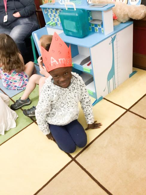 You are Five, Amiya athymeformilkandhoney.com #birthday #fiveyearsold #Amiya birthday hat