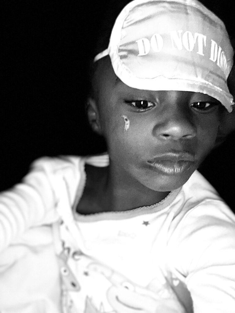 You are Five, Amiya athymeformilkandhoney.com #birthday #fiveyearsold #Amiya eye mask selfie